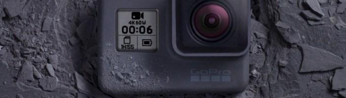 GoPro Hero 6 Black – filmare 4K la 60FPS