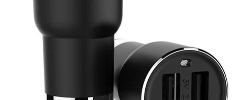 Oferta zilei: incarcator auto cu modulator FM si Bluetooth Xiaomi ROIDMI BFQ01RM