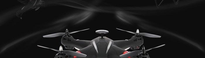 BAYANGTOYS X21 - drona accesibila cu camera Full HD