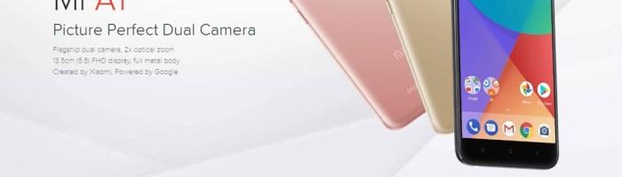 Xiaomi Mi A1 poate fi comandat din China pentru 209 dolari