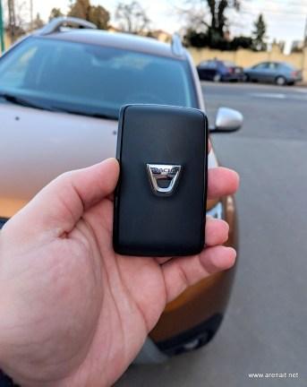 Dacia Duster 2018 keyless go
