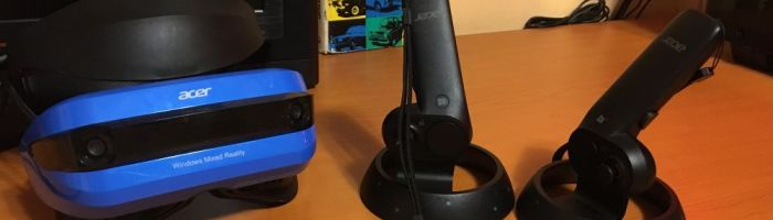 Review casca de realitate virtuala Acer Mixed Reality