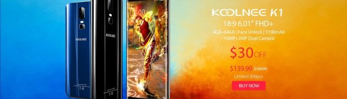 Reduceri importante la smartphone-urile Koolnee; Koolnee Rainbow la doar 150 Lei
