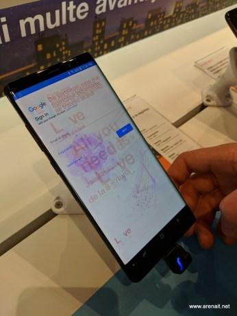 Samsung Galaxy Note 8 burn in