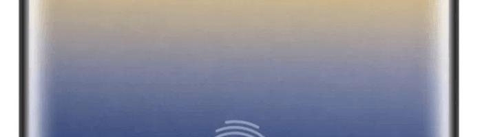 Note 9 inca are sanse de senzor de amprenta sub ecran