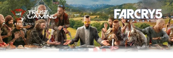 Trust si Ubisoft au pregatit un bundle FarCry 5 care este deja disponibil la PC Garage