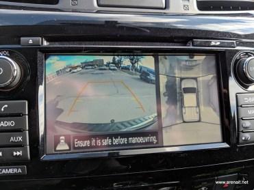 Camera spate activa