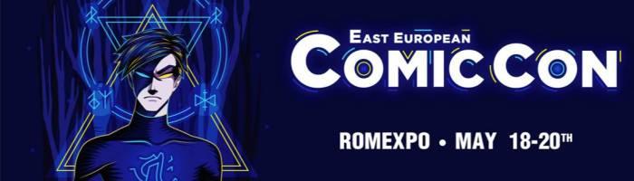 Oferim 2 bilete pentru East European Comic Con 2018
