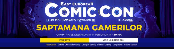 PC Garage are reduceri cu ocazia Comic Con