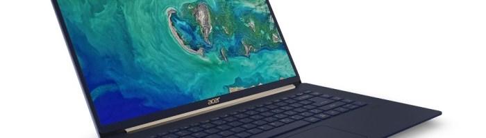 Acer a lansat Swift 5 cu o greutate de sub 1kg
