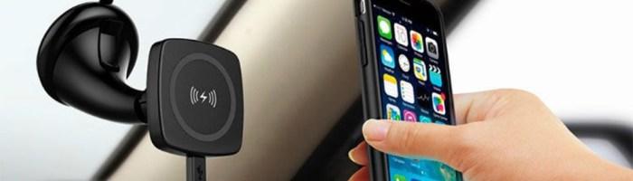 Oferta zilei: incarcator auto magnetic wireless