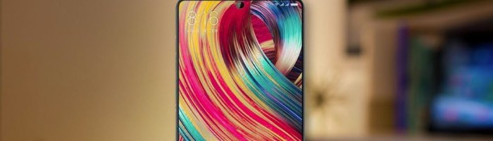 Primele imagini live cu Xiaomi Mi Mix 3 scapate pe internet