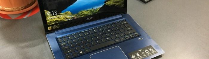 Acer Swift 3 - laptop-ul ideal pentru oamenii care calatoresc des
