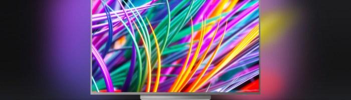 Televizor Philips 49PUS8303/12 - este un smart TV cu Ambilight si panou IPS