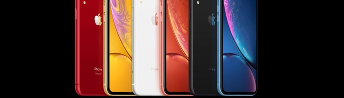 Apple iPhone Xr: cel mai ieftin model lansat astazi, are display LCD de 6.1 inch