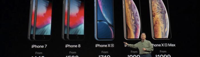 LIVE BLOGGING - Lansarea noilor modele iPhone 2018