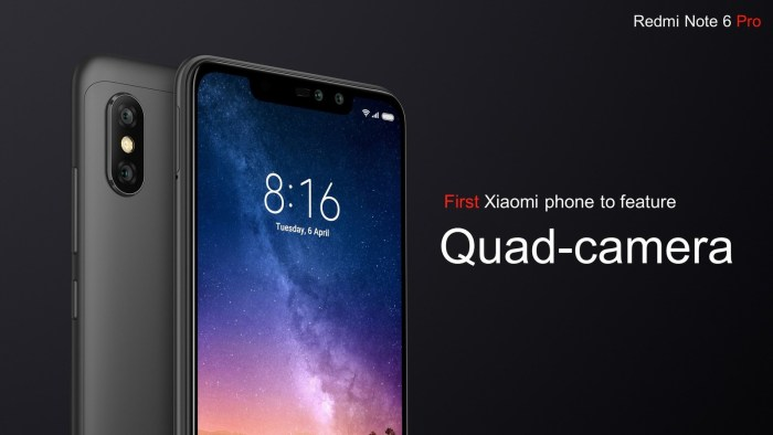 Xiaomi Redmi Note 6 Pro lansat oficial