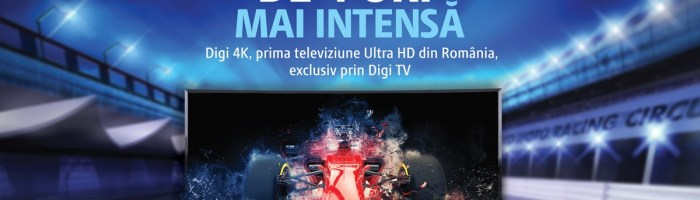 Digi a dat startul la primul post de televiziune 4K