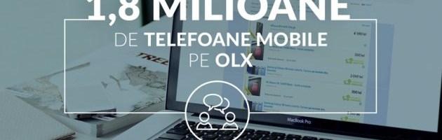 Românii se plictisesc repede de telefoane. 1.8 milioane de smartphone-uri vândute anual prin OLX