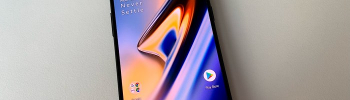 OnePlus 6T scurt review: un smartphone rapid dar corect