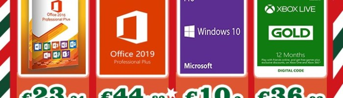Fa-i cadou o licenta de Windows sau Xbox Gold de Craciun, preturi de la doar 15 dolari