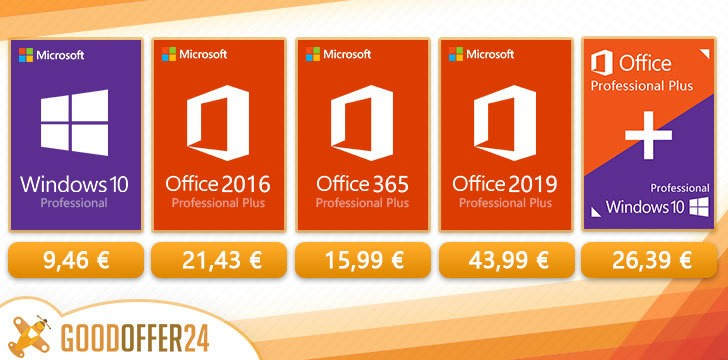 Super oferte la Windows 10 si pachetul Office