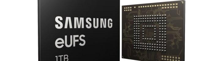 Samsung a lansat o memorie eUFS de 1TB pentru telefoane
