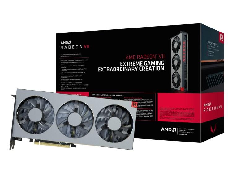 AMD Radeon VII - prima placa pe 7nm este acum disponibila