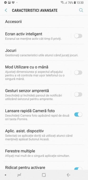 Samsung Galaxy A9 interfata (19)