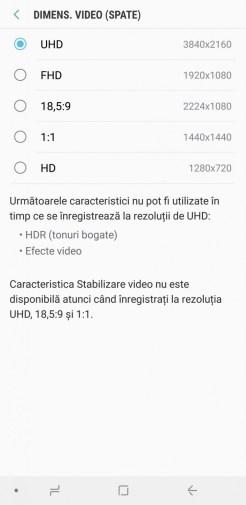 Samsung Galaxy A9 interfata (5)