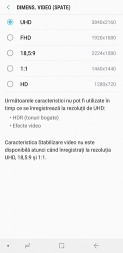 Samsung Galaxy A9 interfata (5)