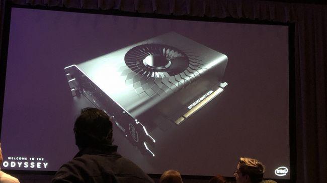 Prima imagine cu placa video Intel