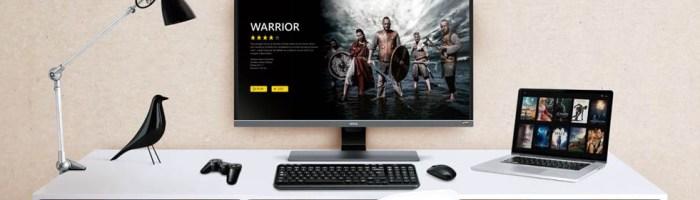 BenQ a prezentat un nou monitor 4K pentru divertisment