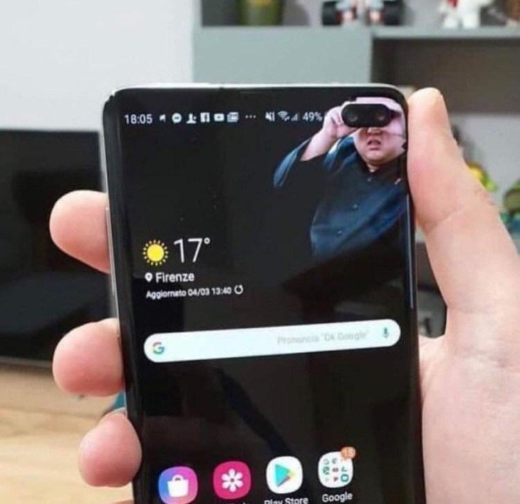 Cele mai bune wallpaper-uri pentru Samsung Galaxy S10 si S10 Plus