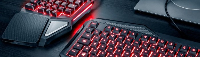 Trust ASSA - un sfert de tastatura pentru laptop