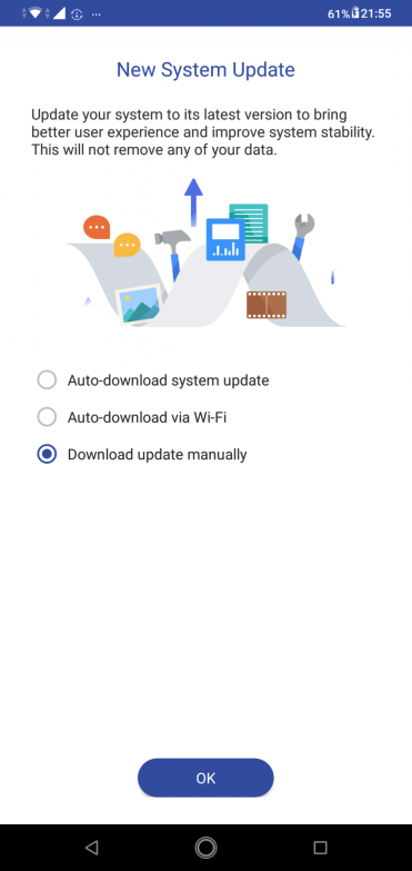 Asus Zenfone Max Pro M2 OTA update
