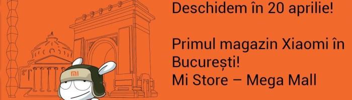 Primul magazin oficial Xiaomi se deschide la Bucuresti