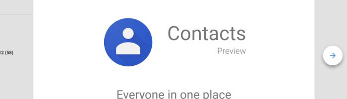 Google Contacts va oferi suport pentru numere de urgenta