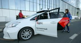 Yandex self-driving taxi unveiled in Moscow