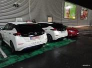 Nissan Leaf la Sibiu