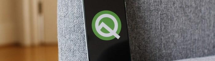 Android 10 Q are suport pentru telefoane pliabile, 5G si Dark Mode