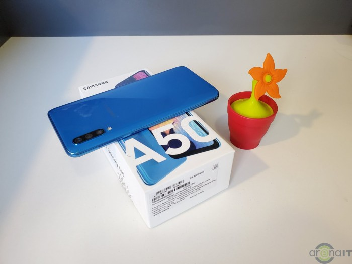 Samsung Galaxy A50s primeste Android 10