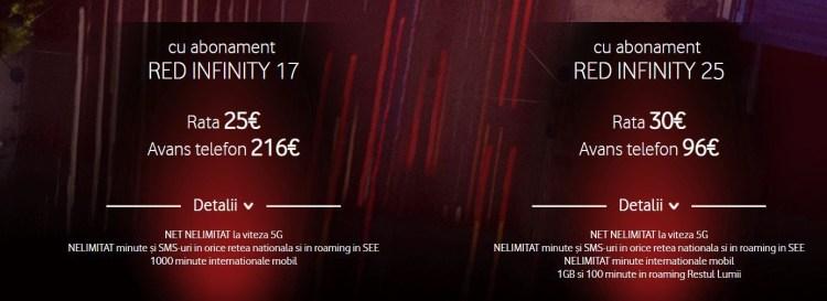 Vodafone a lansat primele abonamente 5G din Romania - preturi de la 17 euro