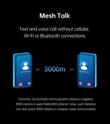 Oppo MeshTalk - apeluri si SMS-uri fara internet sau operator telefonic