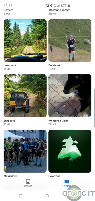 Google a lansat aplicatia Gallery Go