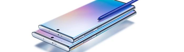 Samsung a lansat oficial Note 10 si Note 10 Plus - specificatii oficiale, diferentele dintre modele si preturi