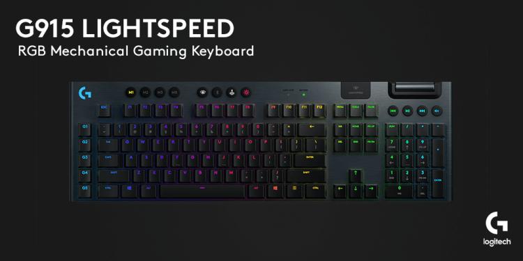 Logitech a lansat doua tastaturi: G915 si G815