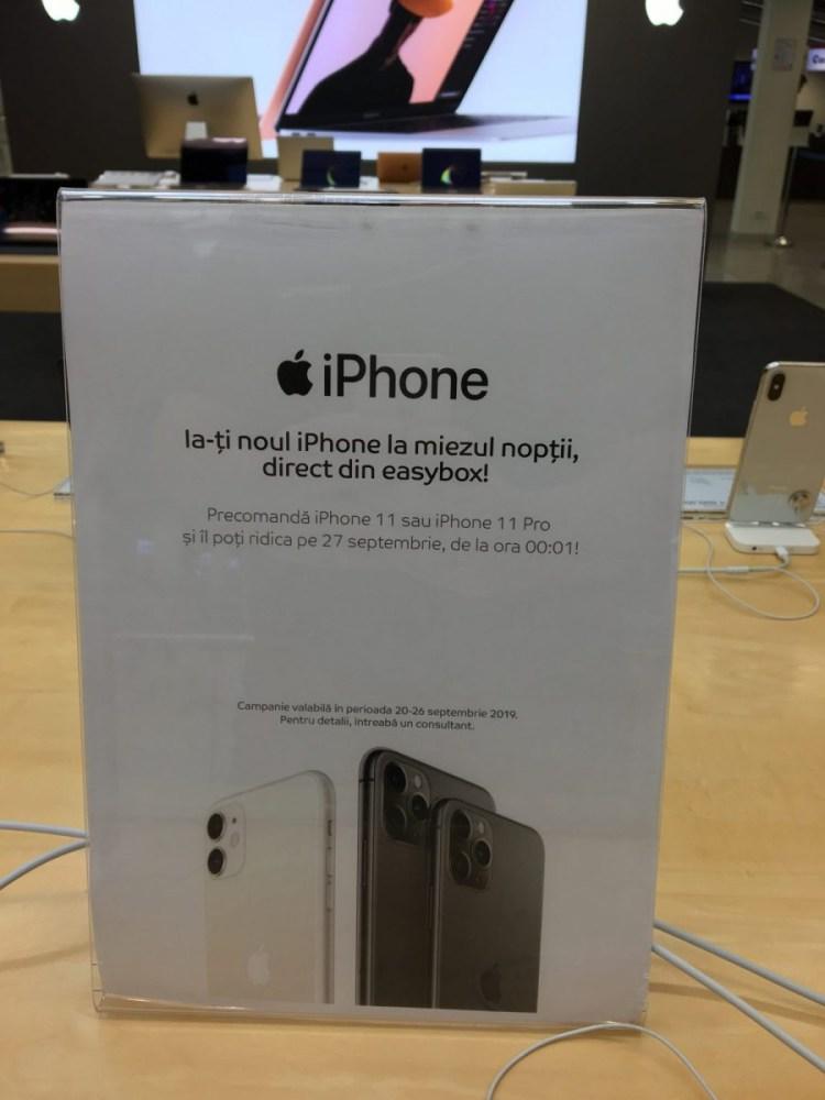 eMAG s-a tinut de cuvant si a livrat iPhone 11 chiar mai devreme