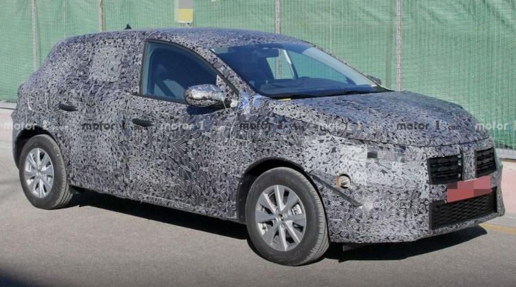 Dacia Sandero se pregateste de facelift
