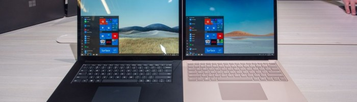 Microsoft Surface Laptop 3 - un laptop cu Ryzen 7
